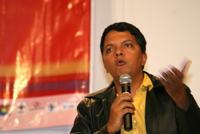 Danilo Moreira, presidente do Conjuve