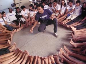 Agência de Redes Para Juventude no Batan. Foto: Vinicius Freitas (ARJ)