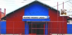 Fachada do Teatro Mário Lago. Foto: Divulgação